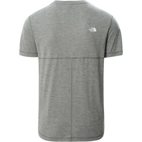 The North Face Lightning SS Tee Men, agave green white heather